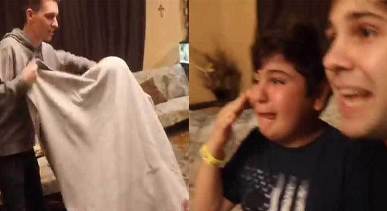 ԱՄՆ-ում բնակվող հայկական ընտանիքի կատակը համացանցի հիթ է դարձել․ տեսեք, թե ինչ սարքեցին տղայի գլխին (Տեսանյութ)