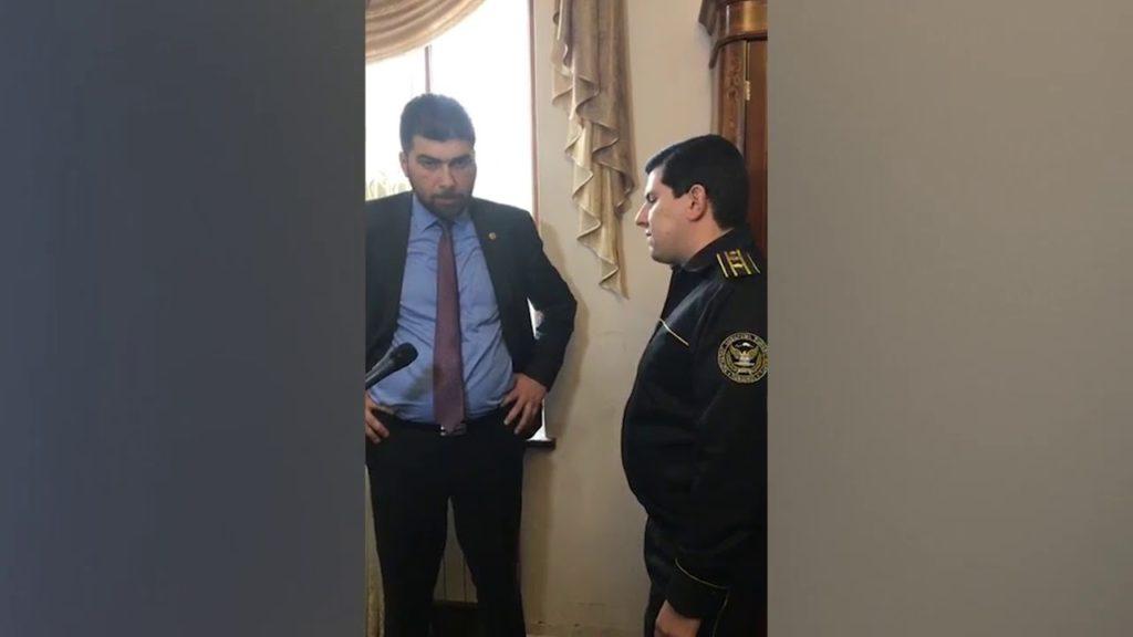 Video. ԴԱՀԿ-ն փորձել է ընտանիքին վտարել բնակարանից. Դավիթ Սանասարյանը խոչընդոտել է
